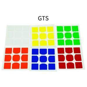 Наклейки для кубика Рубика Moyu GTS V2 3x3x3