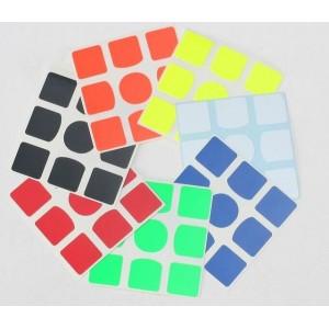 Наклейки для кубика Рубика Gan 356 Air 3x3x3