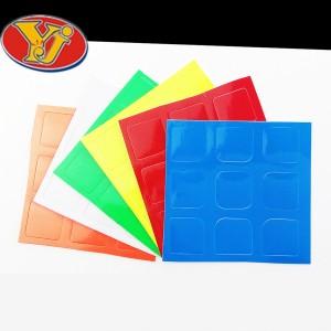 Наклейки для кубика Рубика 3x3x3