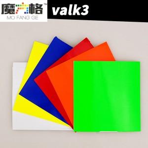 Наклейки для кубика Рубика QiYi MoFangGe Valk 3 3x3x3