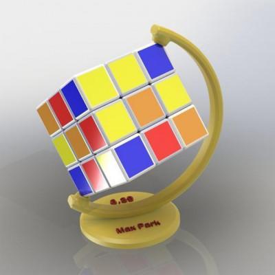 """Подставка """"Глобус"""" для кубика Рубика"""
