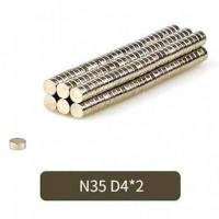 Магниты 4X2 мм (N35) для головоломок