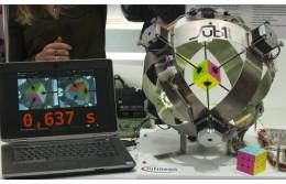 Компьютер собрал кубик Рубика за 0,637 секунды